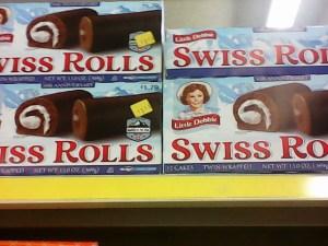 Dollar Store 2 - Little Debbie 666 Swiss Rolls
